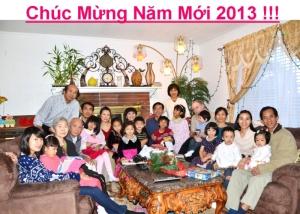 Thiệp Xuân của gia đình Nguyen Phong Vinh